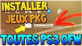 INSTALLER DES JEUX PKG SUR PS3 ULTRA SLIM / 3000 EN OFW 4.82 ! (PS3XPLOIT JAILBREAK)