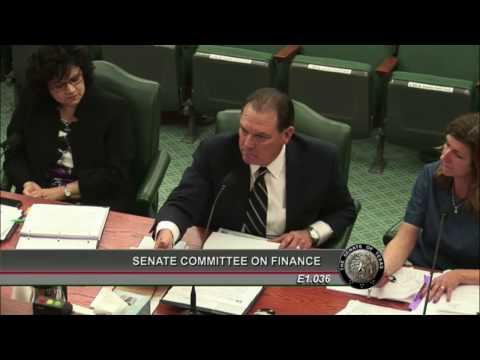 Senate Finance - Sen. Nelson and Commissioner Whitman: Agency Funding - October 26, 2016