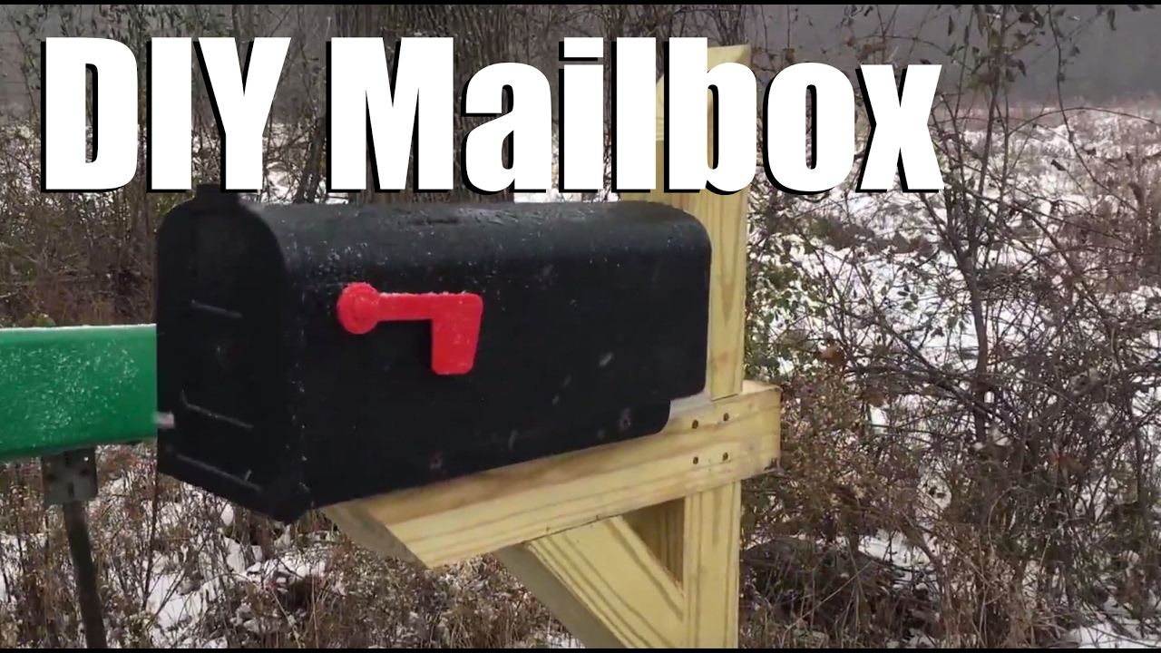 New diy mailbox post and happy thanksgiving to all youtube new diy mailbox post and happy thanksgiving to all solutioingenieria Image collections