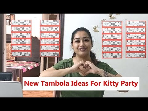 Tambola Games Ideas|Kitty Party Games