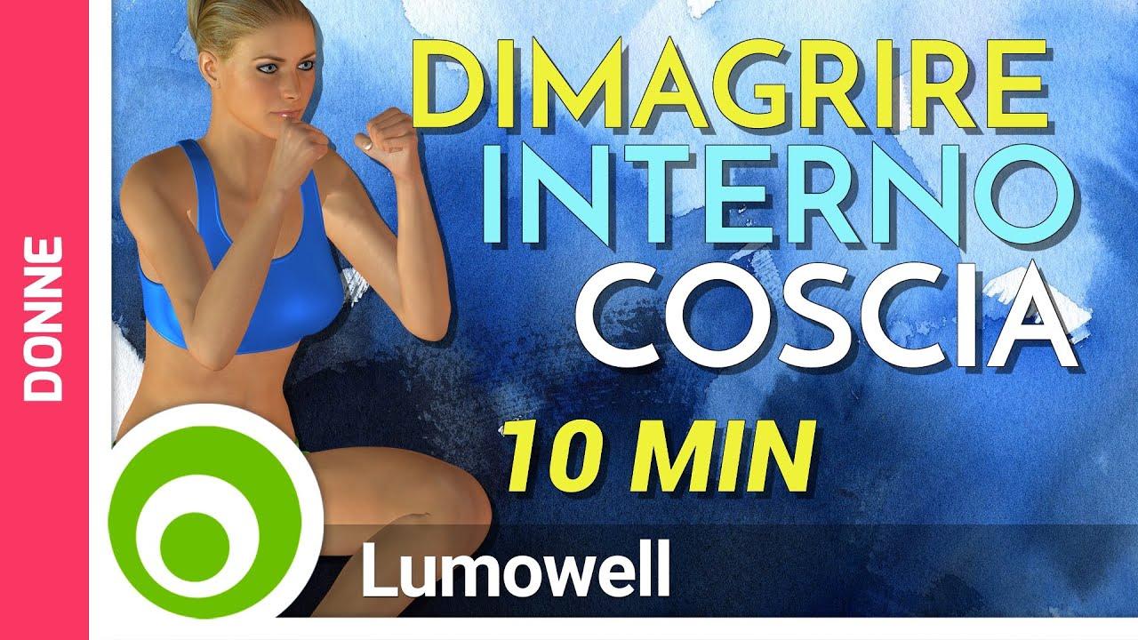 Dimagrire l 39 interno coscia in poco tempo youtube for Interno coscia jill