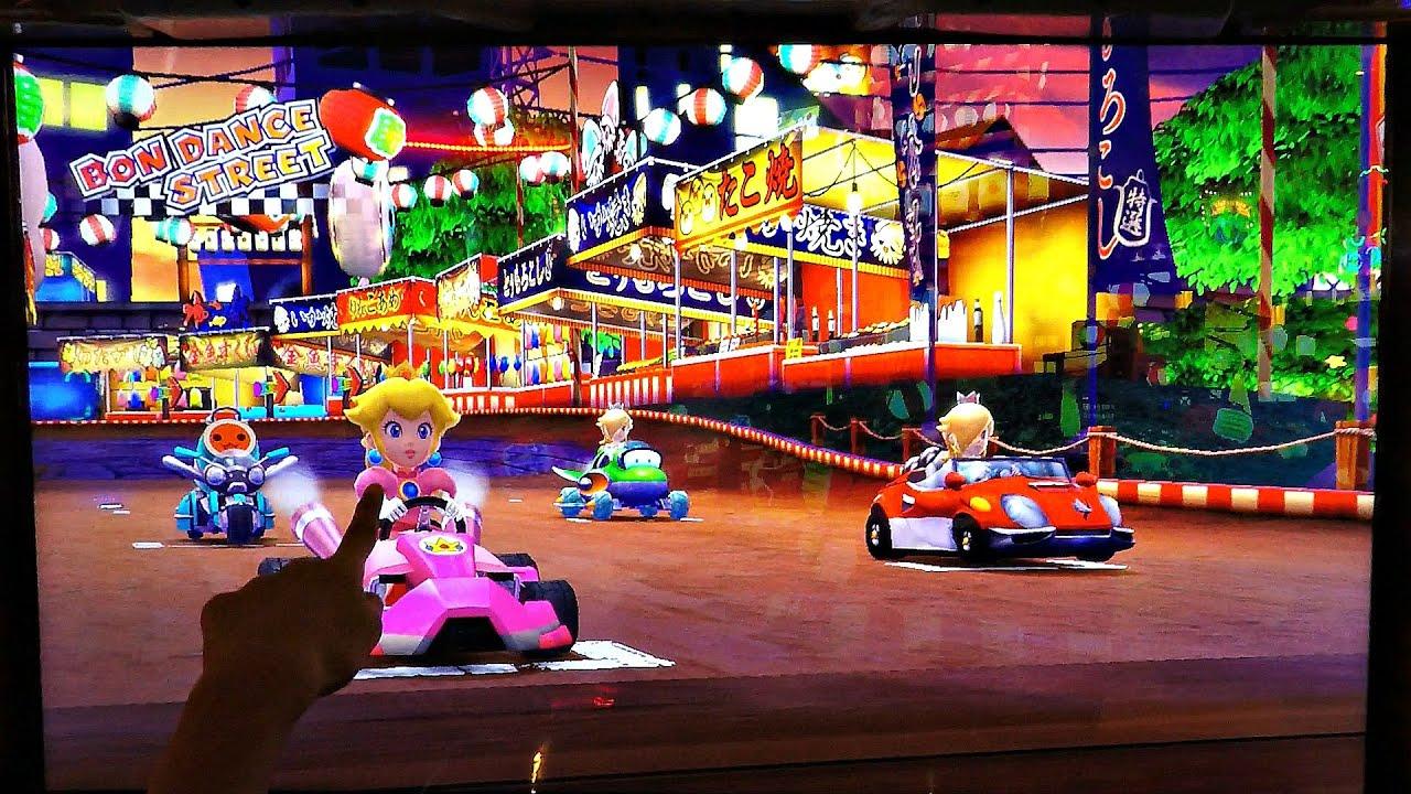 Mario Kart Arcade Gp Dx Game Team Battle Car Racing With 4