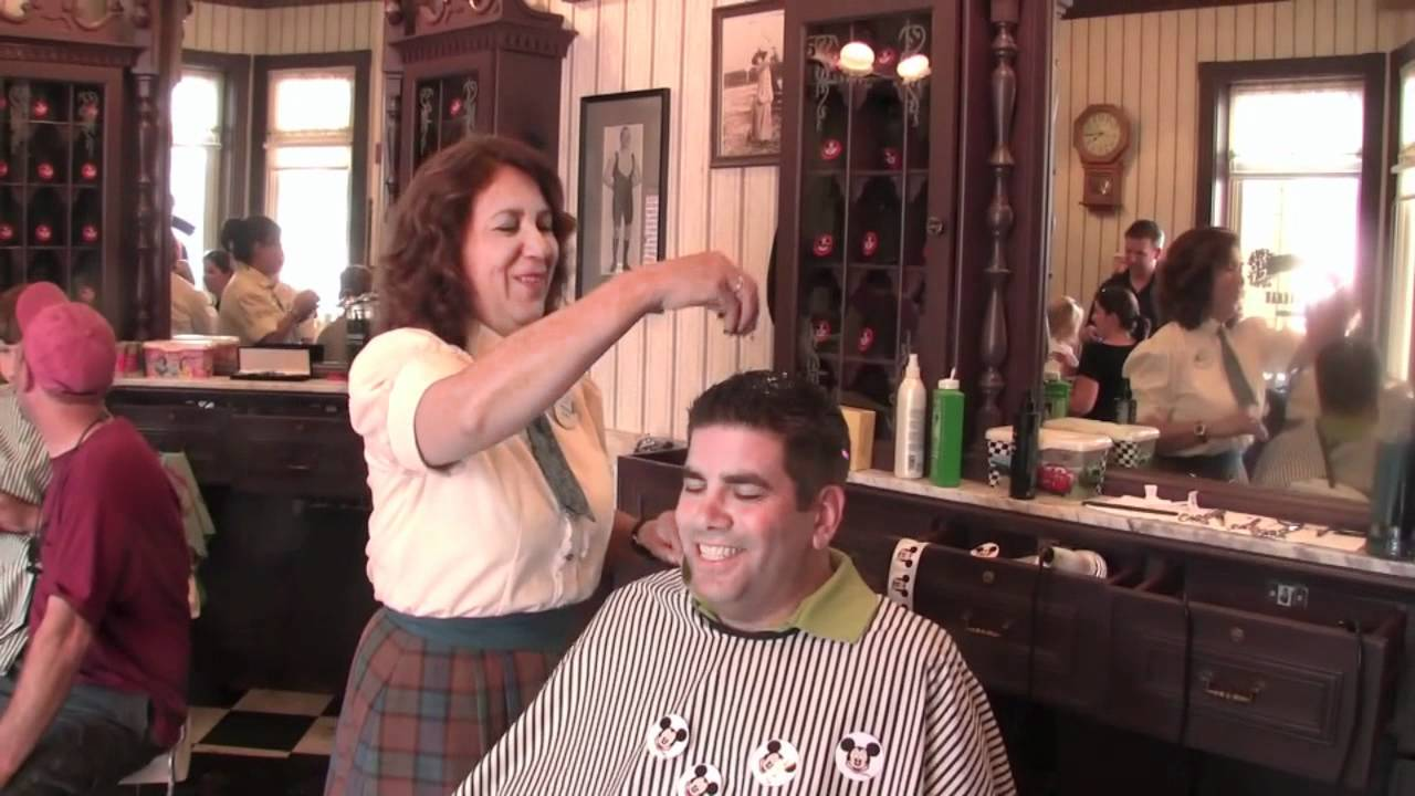 The Harmony Barber Shop On Main Street Usa In Walt Disney World
