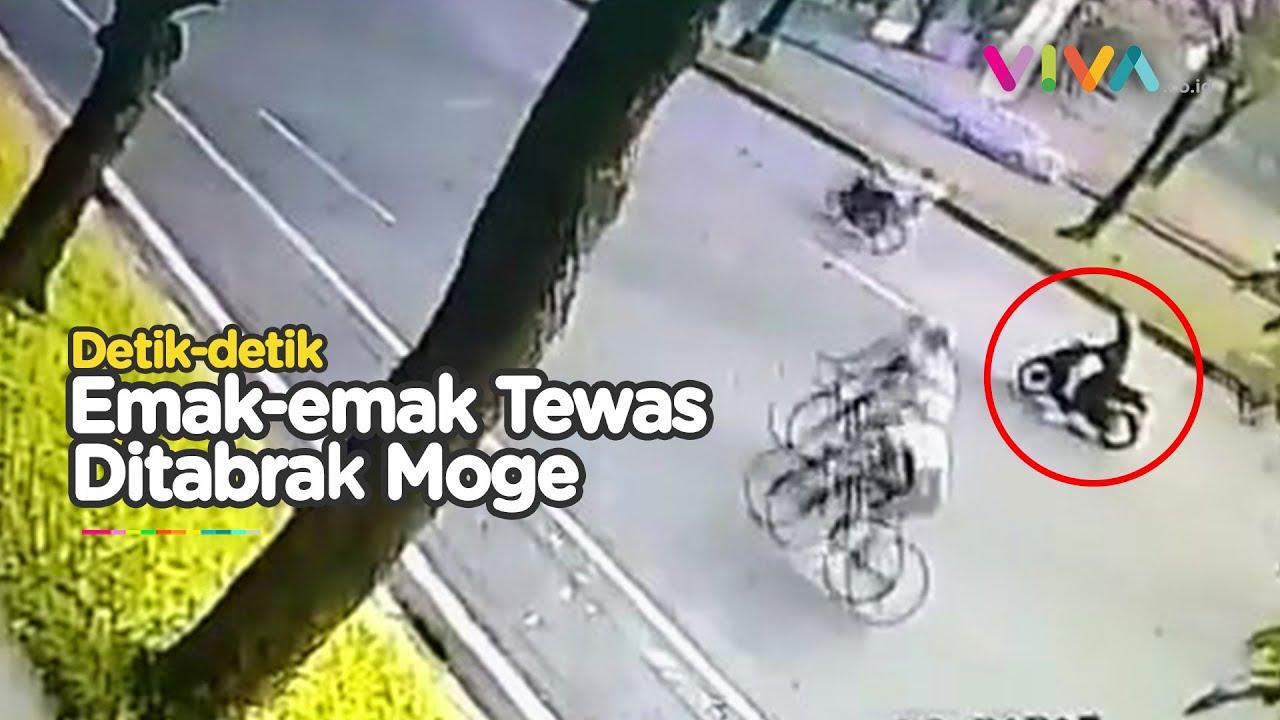 Download Kecelakaan Maut! Emak-emak Tewas Ditabrak Motor Gede di Bintaro, Ini Kronologinya