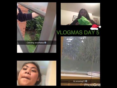 SNOW, GETTING SICK AND SEWING HACKS!   #VLOGMAS2016   LadyBoss143