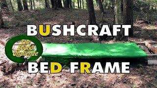 Simple Bushcraft Camp Cot Frame