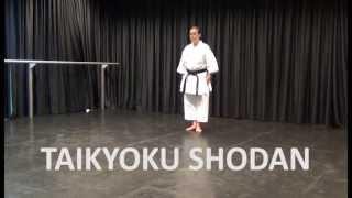 Kata: Taikyoku Shodan - Online Karate tutorial
