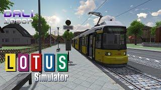 LOTUS-Simulator | Multiple Trams | Day-Night