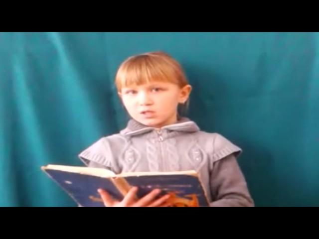 Изображение предпросмотра прочтения – АнгелинаРазумная читает произведение «Майская песенка» В.В.Маяковского