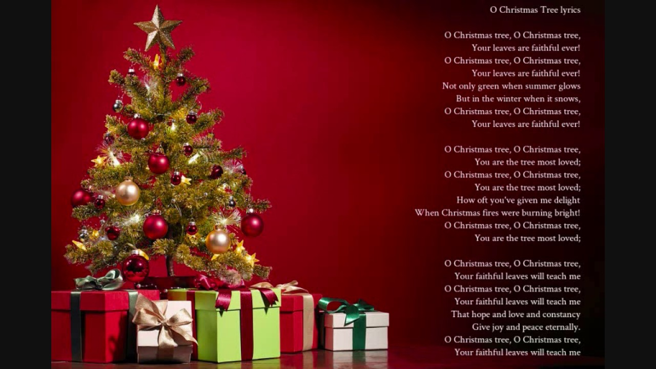 O Christmas Tree Lyrics - Traditional German Folk Song - YouTube