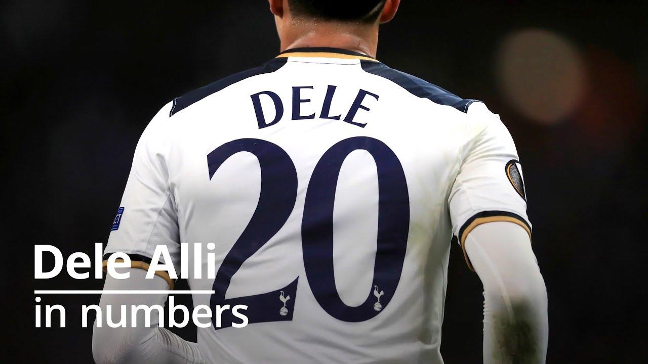info for 58061 641da Dele Alli - Tottenham Star In Numbers