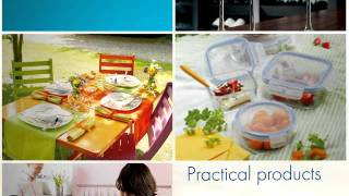 Luminarc, for bright mealtimes(The world's leading tableware brand presents you its modern and innovative products!, 2011-07-07T10:03:47.000Z)