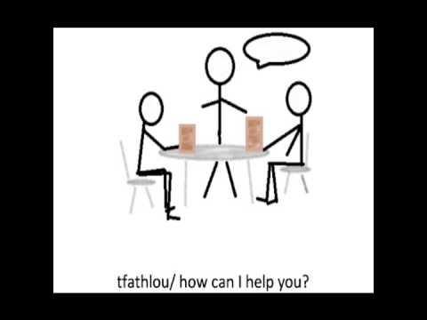 Tunisian Arabic lesson 4