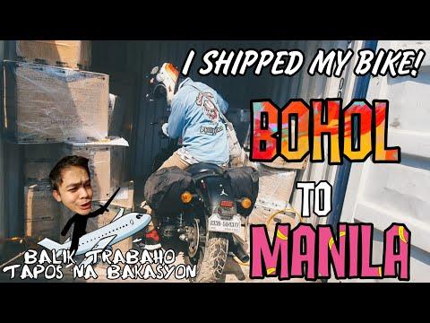 I shipped my Harley Davidson | Bohol to Manila | Seaborne Shipping