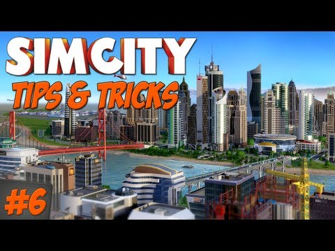 Simcity 2013 - Tips & Tricks : Setting up a Trade Port! #6