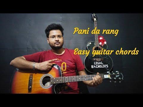 PANI DA RANG (Vicky Donor) | Easy Guitar Lessons  | Ayushman Khurana | Feat - Legal Bachelors.