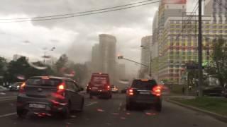 Ураган в Москве 29.05.17