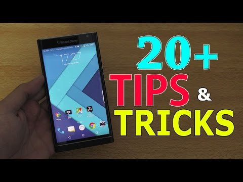 Blackberry Priv - 20+ Tips & Tricks! (4K)
