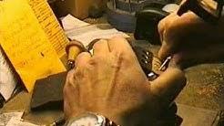 Hand Engrave Gold Money Clip