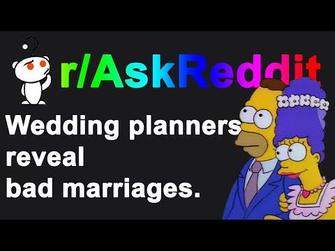 Wedding Planners Share Signs Of A Divorce in Weddings | R/ASKREDDIT Mp3