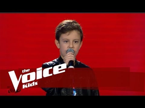 Dominik - You Give Love A Bad Name   The Blind Auditions   The Voice Kids Albania 3