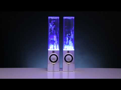 Light Show Fountain Speakers from ThinkGeek