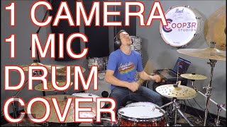 1 Mic 1 Camera - Drum Cover - Don't Start Now - Dua Lipa