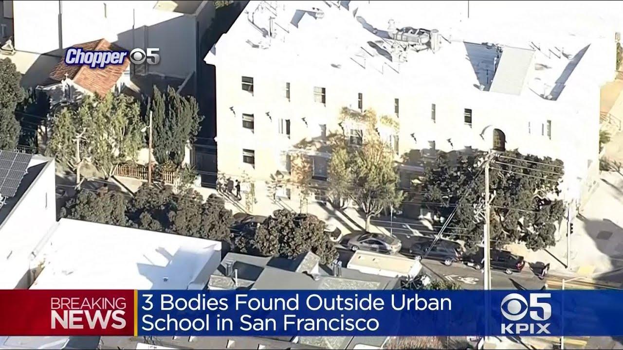 BODIES FOUND: The bodies of three men discovered near San Francisco school