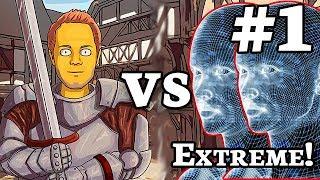 AOE2:DE | TheViper vs 1 & 2 Extreme AI