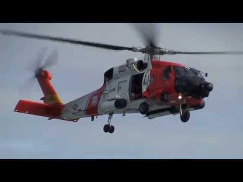 US Coast Guard Transfer a Patient from Carnival Miracle in the Ocean to US Hospital on 6/10/2016