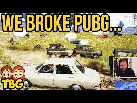 WE BROKE THE GAME // PUBG Xbox One Gameplay
