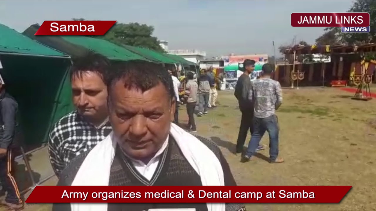 Army holds medical camps in Samba