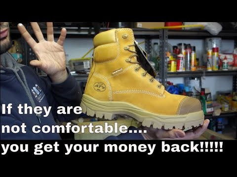 Best Work Boots Ever... Most Comfortable  - Oliver Boots