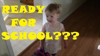 TODDLER READY FOR SCHOOL? PIANO LESSONS? (06-09-16)