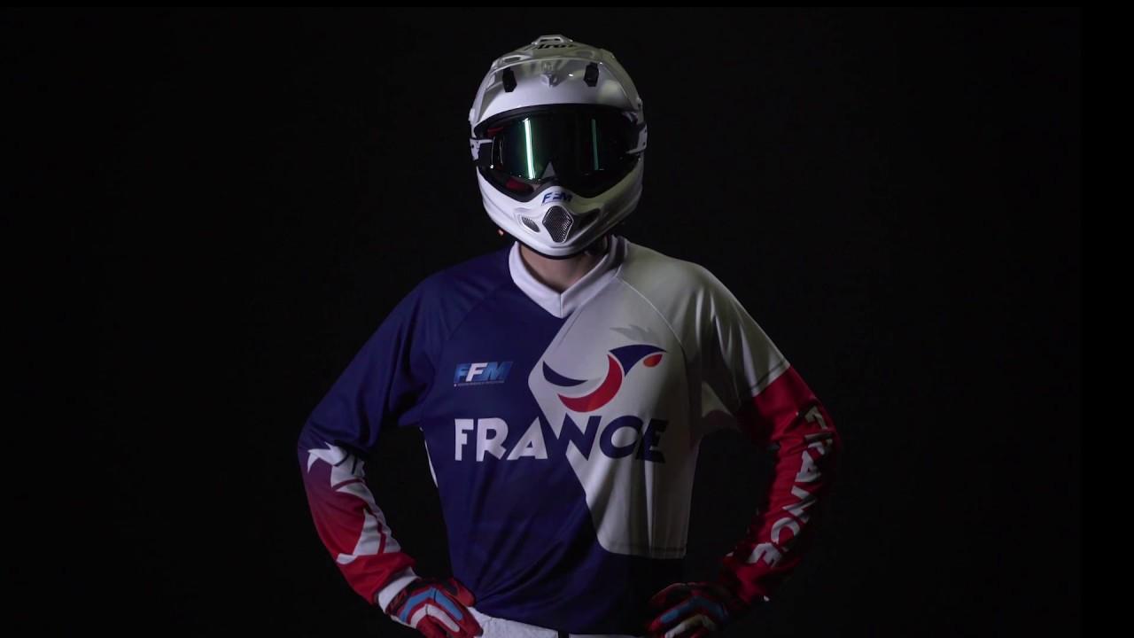 maillot officiel 2017 - Équipes de france - ffm - youtube