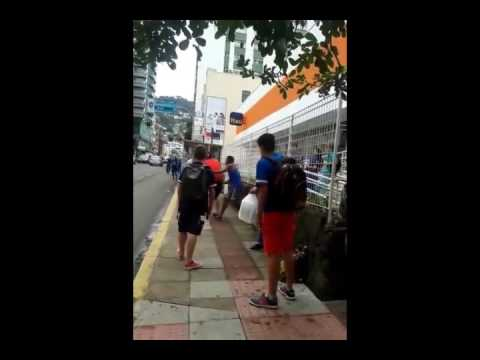 Ridiculous Sucker Punch Ends Fight in the Street