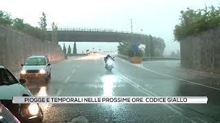 Allerta Meteo - in arrivo piogge e temporali domani (21-08-2019)