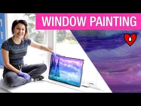 How To Make A Resin Window Painting