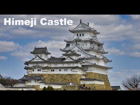 Himeji Castle: UNESCO World Heritage Site in 4k