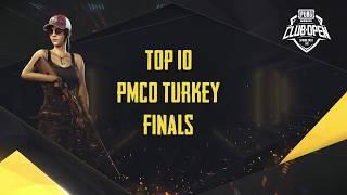 [TOP 10] PMCO Turkey Semi Finals & Finals | Spring Split | PUBG MOBILE CLUB OPEN 2020