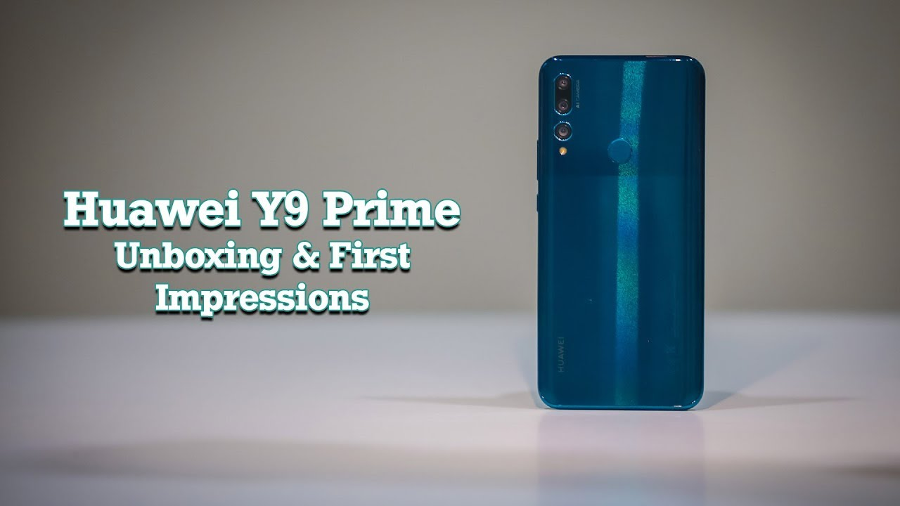 Huawei's Y9 Prime 2019 Offers a Lot at Rs  34,000 (Unboxing