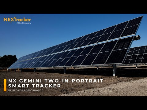 NEXTracker Expands Solar Tracker Offering with Launch of NX Gemini