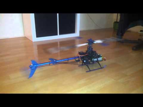 Rc helihopter prvi test - Maky Tech