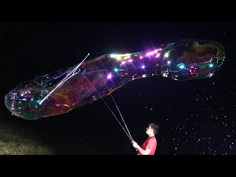 GIANT BUBBLE EXPLOSIONS | Shanks FX | PBS Digital Studios