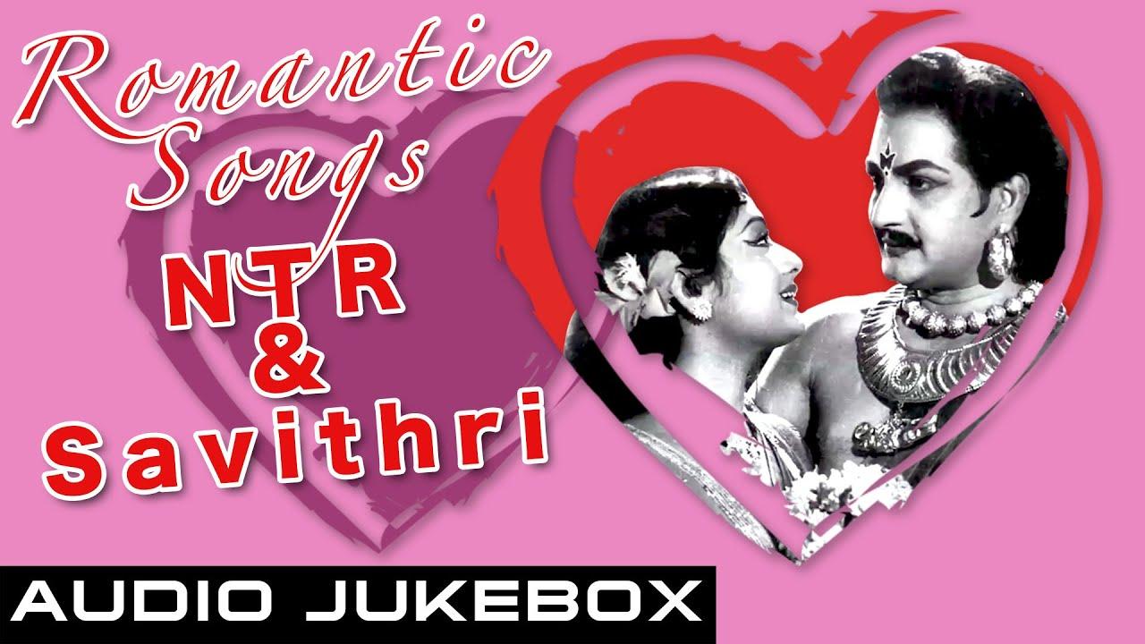 Download Romantic Songs of NTR & Savithri   Best Telugu Songs Jukebox   Super Hit Evergreen Songs