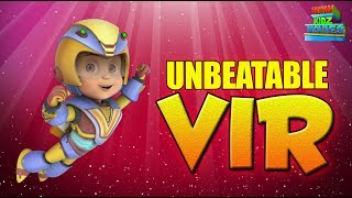 Vir The Robot Boy | Unbeatable Vir | Full Movie | Animated Movie For Kids | Wow Kidz Movies