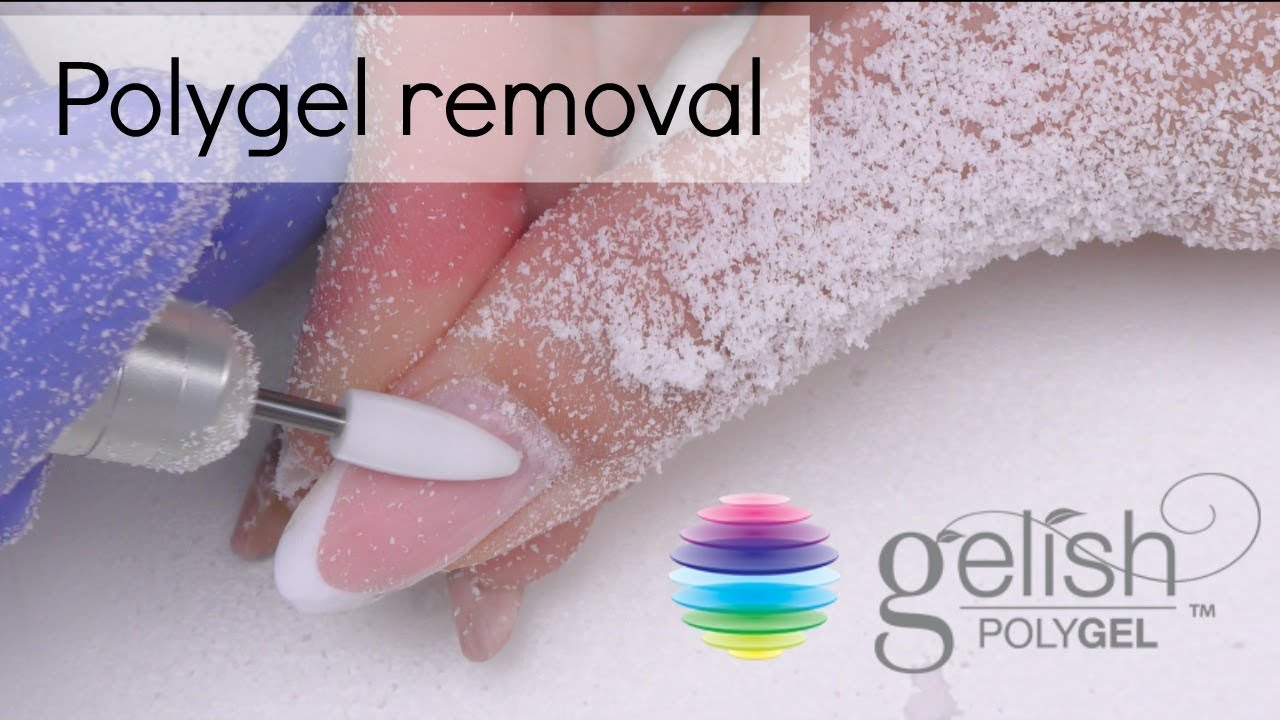 Polygel Removal How To Take Off Gel Nails Youtube