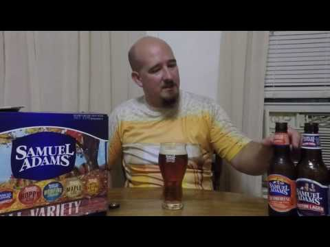 Samuel Adams 2016 Fall Variety pack beer review