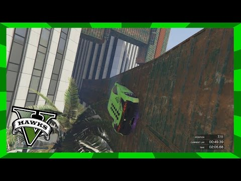GTA 5 Custom Race - Super Wall (Xbox 360) Grand Theft Auto 5 Race Link