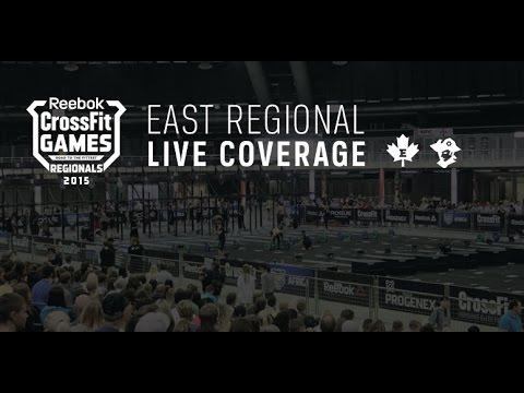 CrossFit Games 2015 Восточный регион - День 1